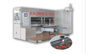 Computer Automatic Edge Feed Rotary Die Cutting Machine pictures & photos