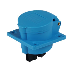 IEC309 Outdoor Waterproof IP44 2/3/4/5 Phase Electrical Power Mennekes Type Straight Flanged Industrial Sockets Outlets (3031601) pictures & photos