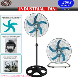 18inch Industrial Fan 2 in 1 with Five Aluminum Blade pictures & photos