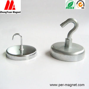 Zn Plated Permanent NdFeB Magnet for Holding Hook