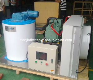 Flake Ice Maker for Fishery, Ice Factory 5t/Day pictures & photos