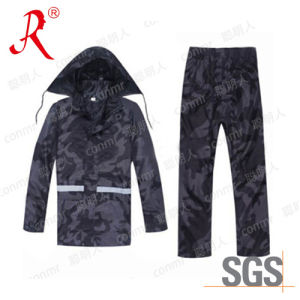 2016 Hot Sale Camouflage Rainsuit, Raincoat, Workwear (QF-773) pictures & photos