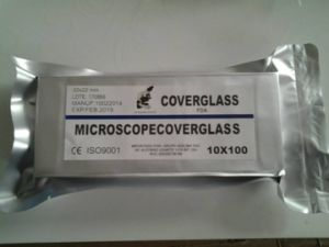 High Clear and Transparent Cover Glass 24mmx50mm pictures & photos