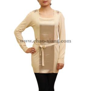 Ladies Knitwear with Belt (CX12S001)