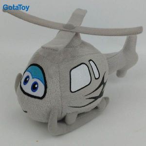 High Quality Custom Plush Stuffed Helicopter Soft Toy pictures & photos