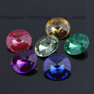 High Quality Faceted Pointed Back Decorative Acrylic Loose Diamonds pictures & photos