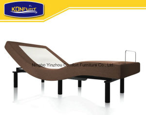 Home Furniture Comfortable Electric Adjustable Bed with Massage Function pictures & photos