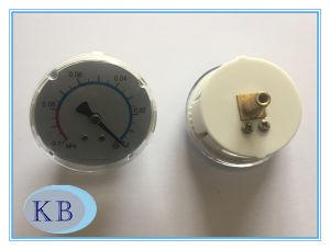 White Plastic Case Medical Pressure Gauge pictures & photos