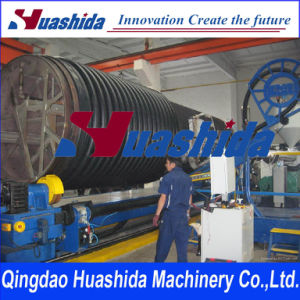 Profiled Corrugated Pipe Extruder Krah Pipe Extrusion Line Plastic Machinery pictures & photos
