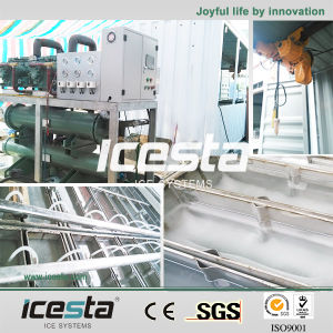 Icesta 20ton Water Cooled Commercial Ice Block Maker Machine pictures & photos