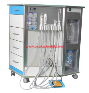 Hot Sell Portable Dental Unit with Curing Light and Scaler pictures & photos
