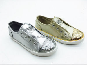 Latest Jeans Children Rubber Sneaker with Elastic (ET-LH160270K) pictures & photos