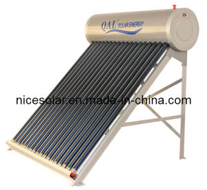 Alluninum Alloy Non Pressure Solar Water Heater Solar Collector, Hot