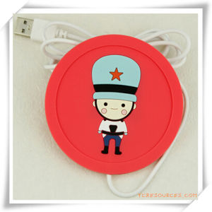 USB Heat Coaster/Cup Mat for Promotion pictures & photos