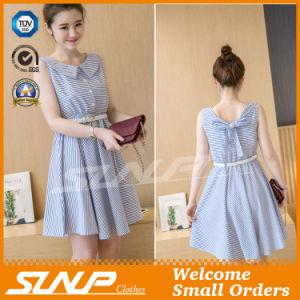 OEM High Quality Stripe Women Wear Fashion Dress/Skirt