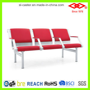 Red PU Seater Airport Waiting Chair (SL-ZY039) pictures & photos