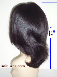 "Top Fashion Human Hair Jewish Wigs with Hair Length 14"" pictures & photos"