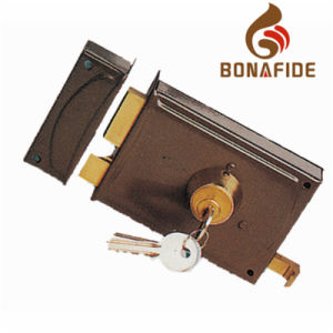 High Quality Security Rim Lock 720 pictures & photos