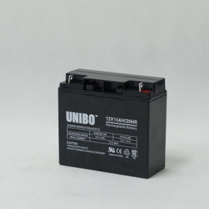 Solar Battery 12V18ah High Quality Solar System AGM Lead Acid Battery pictures & photos