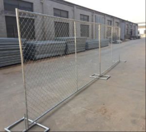 6foot*10foot Temporary Construction Chain Link Fence/Temporary Fence Panel pictures & photos