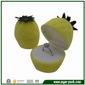 Flocking Pineapple Plastic Jewellery Box pictures & photos