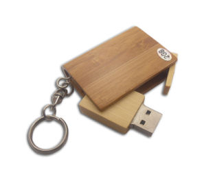 Bamboo Book USB Stick 512GB USB Flash Drive (UW13) pictures & photos