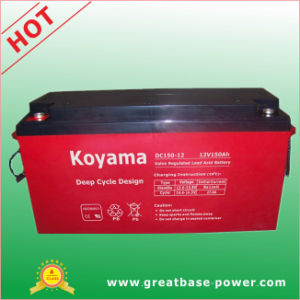Sealed Deep Cycle Battery 150ah 12V pictures & photos