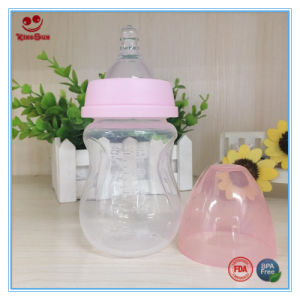 180ml Arc Shape Baby Feeding Bottle in Wide Neck pictures & photos
