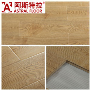12mm Mirror Surface Laminate Flooring (U-Groove) As1032 pictures & photos