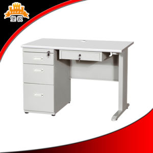 MDF Office Desk with Drawer pictures & photos