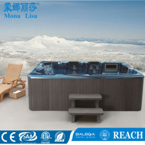 European Style 8-9 People Capacity Acrylic Outdoor SPA Hot Tub (M-3320) pictures & photos