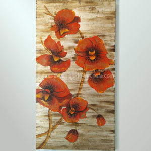 Floral Canvas Art Oil Painting on Linen Canvas (LH-162000) pictures & photos