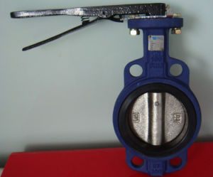 Cast Iron Butterfly Valve with Lever pictures & photos