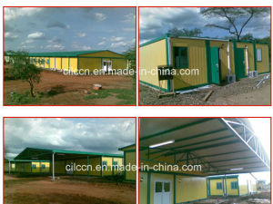 Container House for Labor Camp with Kitchen / Toilet / Clinic / Ablution / Hospital pictures & photos