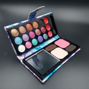 Shimmer Glitter Eyeshadow Palette Powder Nude Makeup Cosmetic Set Es0319 pictures & photos