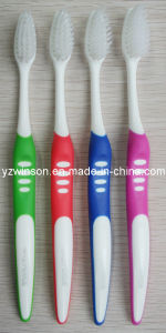 Toothbrush with Tapered and Rounded Bristles (SF1010)