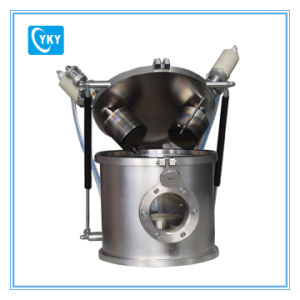 """Laboratory DC/RF Dual-Head 2"""" Magnetron Plasma Sputtering Coater-Cy-600-2HD pictures & photos"""