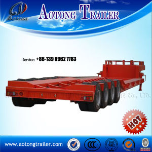 High Quality and Durable Lowbed Trailer, Vehicle Trailers for Sale pictures & photos