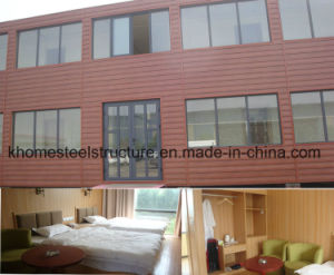 Five Star Flat Pack Steel Structure Container Hotel pictures & photos