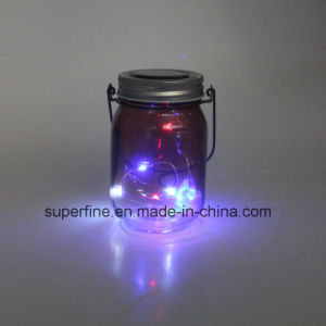Romantic LED Solar Firefly Mason Jar Decorative Outdoor Lights pictures & photos