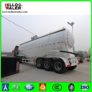 3axles 45cbm Cement Powder Tanker Transport Cement Bulker Trailer pictures & photos