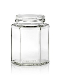 270 ml Flint Hex Jar for Foods with 63tw Finish pictures & photos