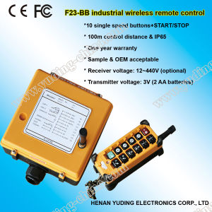 F23-BB Hoist Remote Controller, Wireless Remote Control, Overhead Travelling Crane Control pictures & photos