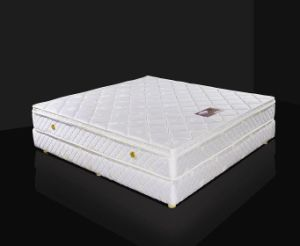 Continuious Spring Mattress with Bed Base pictures & photos