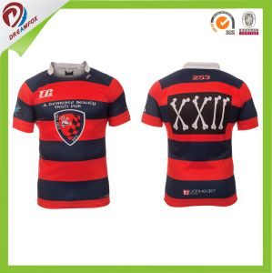 Great Quality Wholesale Cheap OEM Custom Sublimated Rugby League Jerseys pictures & photos