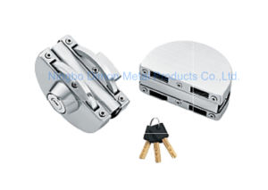 Dimon Sliding Glass Door Lock Double Door Double Cylinder Central Lock (DM-DS 98-2) pictures & photos