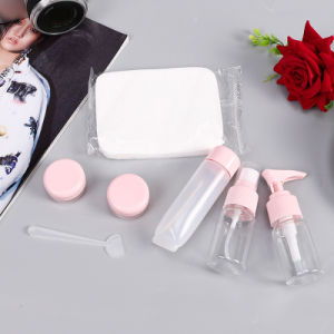 5PCS/Set Portable Travel Shampoo Cream Lotion Cosmetics Refillable Plastic Empty Bottles pictures & photos