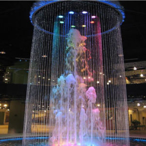 Cartoon Fountain with Colorful Lighting Indoor Fountain