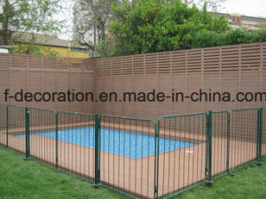Wood Plastic Composite Waterproof WPC Fence