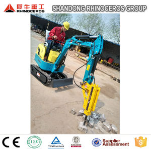 Rubber Crawler Excavator 800kg Mini Excavator Equipment Compact Excavator Sales pictures & photos